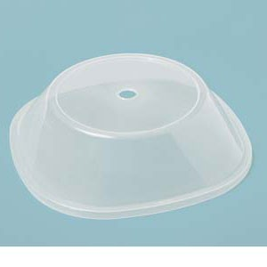 """GET Enterprises CO-99-CL Clear Plate Cover for 11"""" to 11.8"""" Square Plates - 1 doz"""