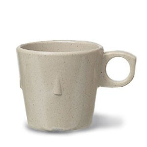 GET Enterprises DC-101-S SuperMel Sandstone Conic Stacking Cup 7.5 oz. - 4 doz