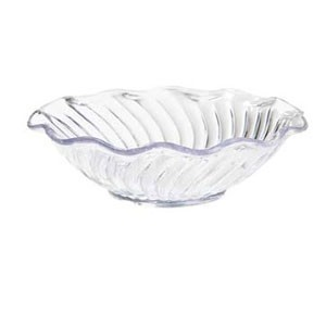 GET Enterprises DD-70-CL Dessert Time Clear Dessert Dish 12 oz. - 4 doz