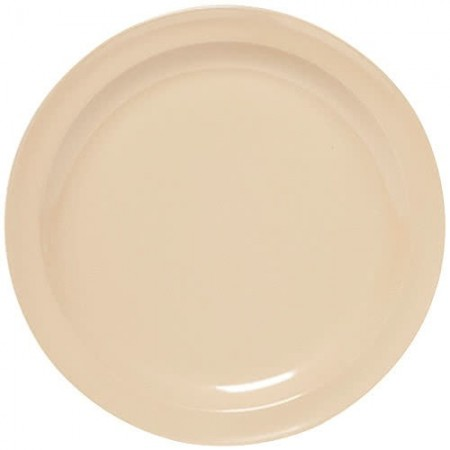 "GET Enterprises DP-509-T SuperMel Tan Dinner Plate 9"" - 2 doz"