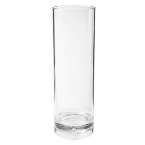 GET Enterprises H-14-1-SAN-CL SAN Plastic Tom Collins Glass 14 oz. - 2 doz
