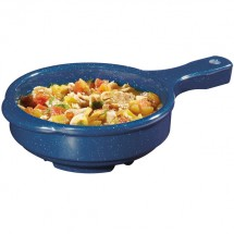 GET Enterprises HSB-112-TB Texas Blue Bowl with Handle 12 oz. - 2 doz