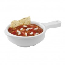 GET Enterprises HSB-112-W Diamond White Bowl with Handle 12 oz. - 2 doz