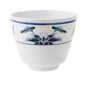 GET Enterprises M-077C-B Water Lily Melamine Tea Cup 5.5 oz. - 2 doz