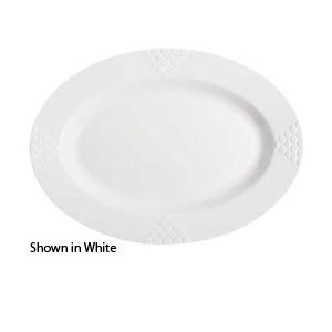 "GET Enterprises ML-14 Milano Oval Platter 17"" x 12"" - 1/2 doz"
