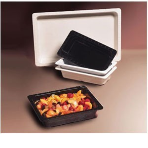 "GET Enterprises ML-18 Melamine Half Size Food Pan 2-1/2"" - 3 pcs"