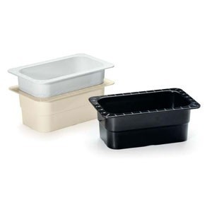 "GET Enterprises ML-28 Melamine Fourth Size Food Pan 4"" - 1/2 doz"