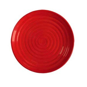 "GET Enterprises ML-83-RSP Red Sensation Plate 12-1/2"" - 1 doz"