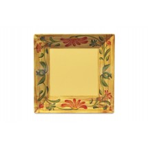 "GET Enterprises ML-92-VN Venetian Square Plate 16"" - 1/2 doz"
