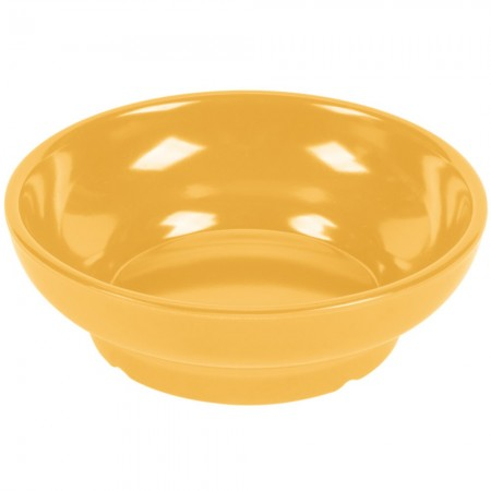 GET Enterprises SD-05-TY Viva Mexico Tropical Yellow Salsa Dish 5 oz. - 4 doz