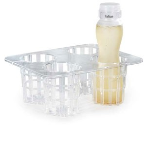 GET Enterprises SDB-32-PC-SET 25-Piece Salad Dressing/ Juice Bottle Set 32 oz.