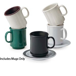 GET Enterprises SP-TM-1308-U Ultraware Ironstone Stacking Mug 8 oz. - 2 doz