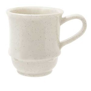 GET Enterprises TM-1208-IR Sante Fe Ironstone SAN Plastic Stacking Mug 8 oz. - 2 doz