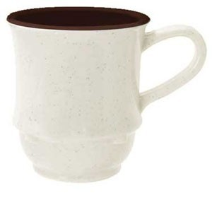 GET Enterprises TM-1208-U Ultraware SAN Plastic Stacking Mug 8 oz. - 2 doz