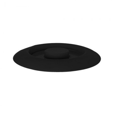 "GET Enterprises TS-800-L-BK Black Replacement Lid for Tortilla Server 7-3/4"" - 1 doz"