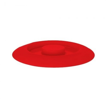 "GET Enterprises TS-800-L-R Red Replacement Lid for Tortilla Server 7-3/4""- 1 doz"