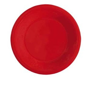 "GET Enterprises WP-6-RSP Red Sensation Wide Rim Plate 6-1/2"" - 4 doz"