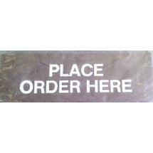 Ges-Line S114 PLACE ORDER HERE Sign