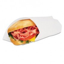 Grease-Resistant Paper Wraps and Liners, 14 x 14, White, 4000/Carton