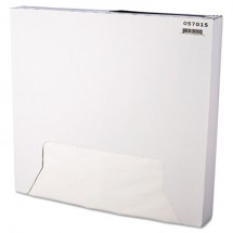 Grease-Resistant Paper Wraps and Liners, 15 x 16, White, 3000/Carton