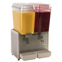 Grindmaster-Cecilware D25-4 Crathco Classic Bubblers Premix Double Bowl Cold Beverage Dispenser 5 Gallon