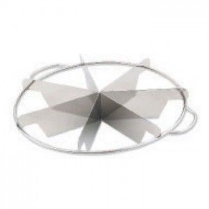 Halco 858 Stainless Steel Pie Cutter 8-Cut