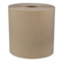 """Hardwound Roll Towels, 1-Ply, 7.8"""" x 700 ft, 6/Carton"""