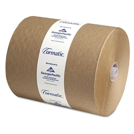 Hardwound Roll Towels, 8 1/4 x 700ft, Brown, 6/Carton