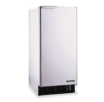 Hoshizaki AM-50BAE-AD 55-lb. Air-Cooled Cube Style Ice Maker with Bin