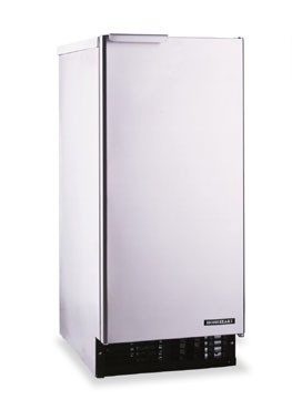 Hoshizaki C-100BAF-AD 92 lb. Air-Cooled Cube-Style Ice Maker With Bin