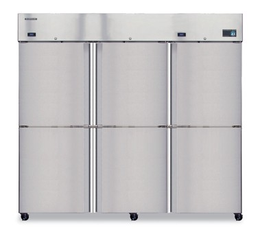 Hoshizaki CF3B-HS Three-Section, Half-Door,  Reach-In Freezer