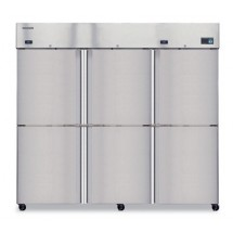 Hoshizaki CR3B-HS Three-Section, Half-Door,  Reach-In Refrigerator