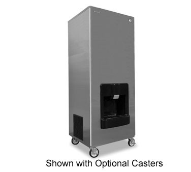 Hoshizaki DKM-500BWH 455 lb. Water-Cooled Cube-Style Ice Maker Dispenser