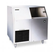 Hoshizaki F-300BAF 303 lb. Air-Cooled Flake-Style Ice Maker with Bin