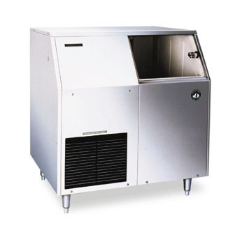Hoshizaki F-500BAF 501 lb. Air-Cooled Flake-Style Ice Maker with Bin
