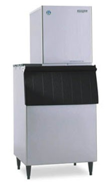 Hoshizaki F-801MWH-C 627 lb. Water-Cooled Nugget Compressed Ice Maker