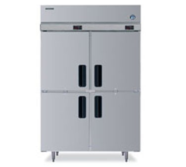 Hoshizaki FH2-SSB-HD Two-Section, Half-Door,  Reach-In Freezer