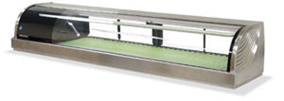 Hoshizaki HNC-180BA-L-S Countertop Refrigerated Sushi Display Case 71""