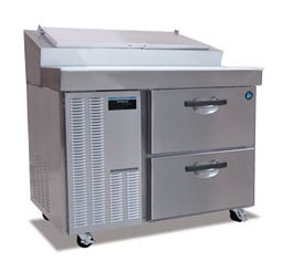 Hoshizaki HPR46A-D One-Section Refrigerated Pizza Prep Table