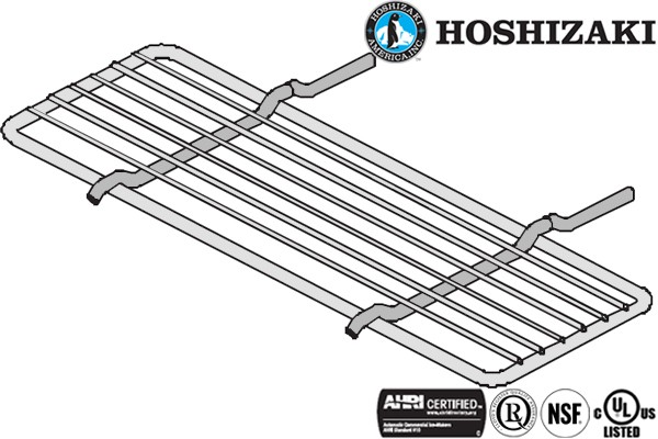 Hoshizaki HS-3504 Stainless Steel Center Shelf