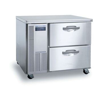 Hoshizaki HUF40A-D One-Section Undercounter Reach-In Freezer