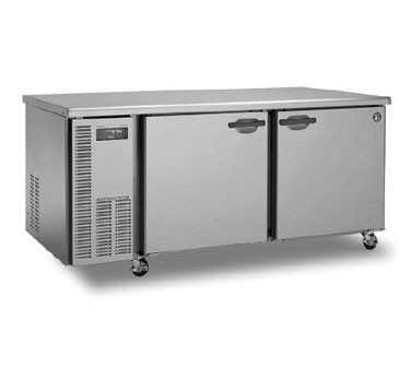 Hoshizaki HUF68A Two-Section Undercounter Reach-In Freezer