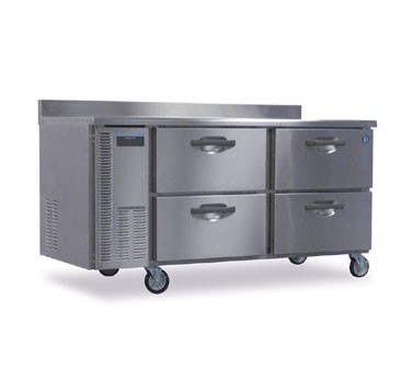 Hoshizaki HWR68A-D Two-Section Work Top Refrigerated Counter