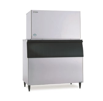 Hoshizaki KM-1301SWH 1318 lb. Water-Cooled Cube-Style Ice Maker