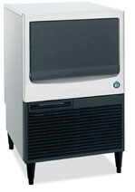 Hoshizaki KM-151BAH 146-lb. Air-Cooled Cube Style Ice Maker with Bin