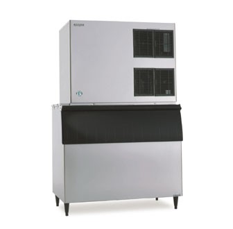 Hoshizaki KM-1900SWH3 1825 lb. Water-Cooled Cube-Style Ice Maker