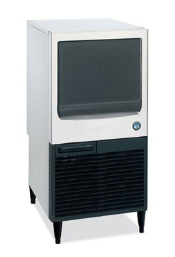 Hoshizaki KM-80BAJ 71-lb. Air-Cooled Crescent Cube Ice Maker with Bin