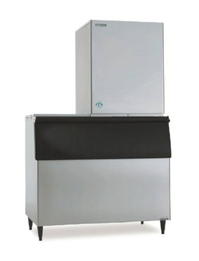 Hoshizaki KM-901MRH 889 lb. Remote Air-Cooled Cube-Style Ice Maker
