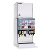 Hoshizaki KMD-410MWH 440 lb Water-Cooled Cube Style Ice Maker