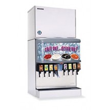 Hoshizaki KMD-450MWH 460 lb. Water-Cooled Cube-Style Ice Maker